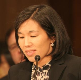 VOA photo of Nicole Wong