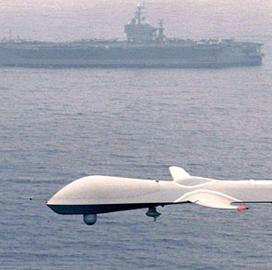 naval drone stock photo