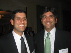 CIO Vivek Kundra and CTO Aneesh Chopra