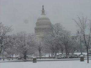WashingtonDC-CapitolBuildinginSnow