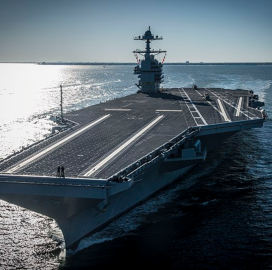 Gerald R. Ford Carrier to Undergo Linking Tests in Atlantic