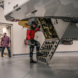 AFRL Fields Centrifuge in NASA Space Launch