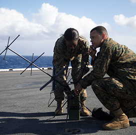 Marine Corps Demos Updated MUOS Satcom Suite