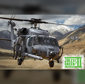 Jolly Green II Helicopter Undergoes Joint Testing With Apache