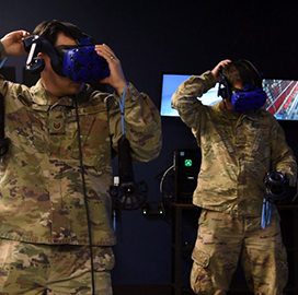 Dyess Air Force Opens Virtual Reality Training Hub