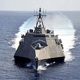 NAVWAR Demos Alternative Connectivity for USS Gabrielle Giffords