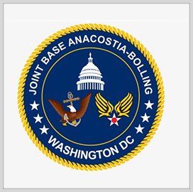Navy Signs Agreement for USAF Leadership Over Joint Base Anacostia-Bolling