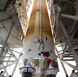 NASA Conducts Core Stage Checkout for Space Launch System