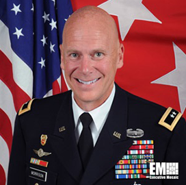 Maj. GenJohn Morrison Receives Nomination for New Army IT Role