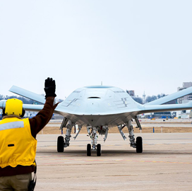 Navy Eyes Army's Ground-Based Sense and Avoid Tech for MQ-25 Tanker Drone