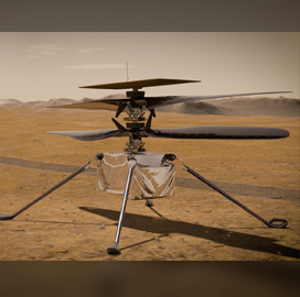 NASA Conducts Recharge, Analysis of Mars Helicopter