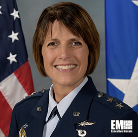 MG Kimbery Crider, Space Force CTIO, Discusses Digital Service Offerings; Mark Esper Quoted