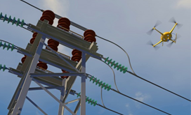 Power line detection