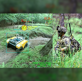 Army Demos Human-Robot Teaming Technology; Christopher Reardon Quoted