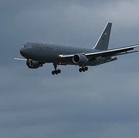 Air Force Conducts Construction Effort for KC-46A Aircraft Infrastructure