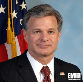 Christopher Wray: FBI's Cyber Strategy Involves Supplying Intell to DoD