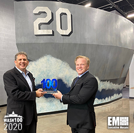 James Geurts, Assistant Secretary of the Navy for R&D and Acquisition, Receives His First Wash100 Award