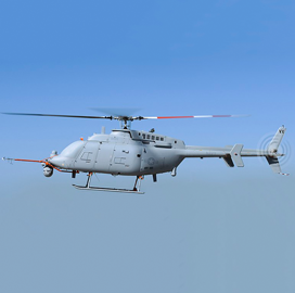 Navy to Field MQ-8C Unmanned Helicopter for Surface Warfare Missions; Cmdr. Matthew Wright Quoted