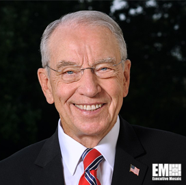 Sen. Charles Grassley Asks DoD to Respond to Questions About JEDI Cloud Program