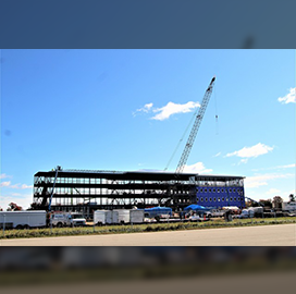 L.S. Black Continues Construction of Army Barracks at Fort McCoy