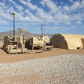 Report: Army, Northrop Await Production Approval for Battle Command System