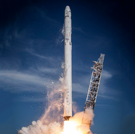 SpaceX Launches Radio Satellite Aboard Falcon 9; Karen St. Germain Quoted