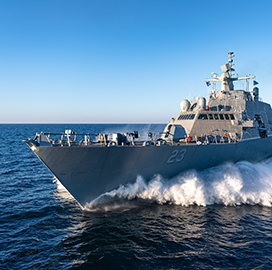 Lockheed Wraps Up USS Cooperstown Acceptance Tests