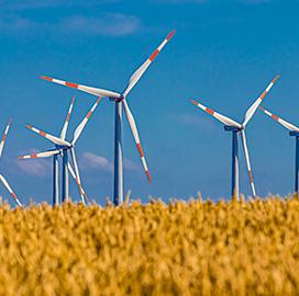 DOE to Back Wind Turbine Generator Dev't Projects