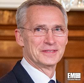 Jens Stoltenberg: NATO Must Consider Interoperability in  Emerging Tech Development
