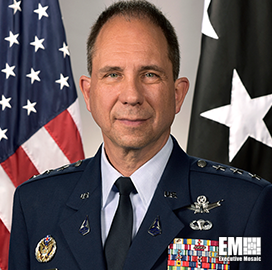 Lt. Gen. John Shaw: Spacecom Plans Space Domain Partnerships With NASA, Industry