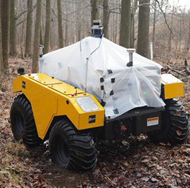 Army Researchers Begin Field Testing of New Robotics Tech in Maryland