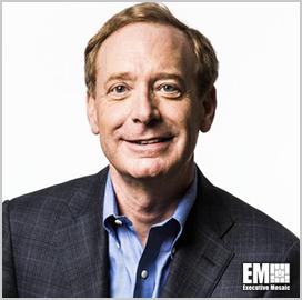 Microsoft's Brad Smith: Reforms Needed to Speed Up Bid Protest Process