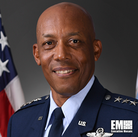 Air Force Releases New Mission Statement; Gen. Charles Brown Quoted