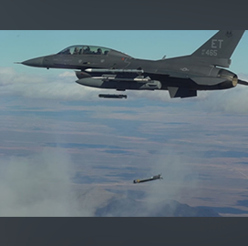 AFRL Conducts Second Flight Test for Collaborative Small Diameter Bomb