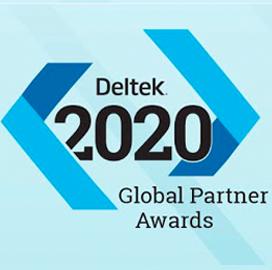 Deltek Announces Winners of the 2020 Deltek Global Partner Awards Program; Jonathan Eisner Quoted