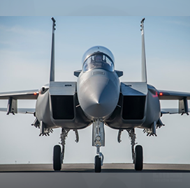 Air Force to Buy Boeing F-15EX Fighter Jets in Aircraft Fleet Modernization Push; Lt. Gen. Duke Richardson Quoted