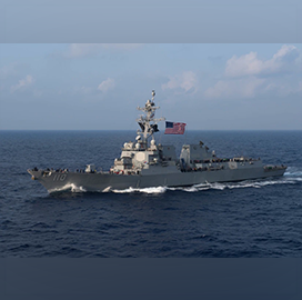 Navy Applies Virtual Anti-Submarine Update With Shortened Timeline; Capt. Jill Cesari Quoted