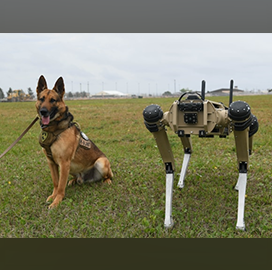 Tyndall AFB to Field Semi-Autonomous Robot Dogs; Mark Shackley Quoted