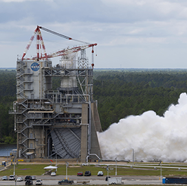 NASA Executes 2nd Entry of New RS-25 Engine Test Series