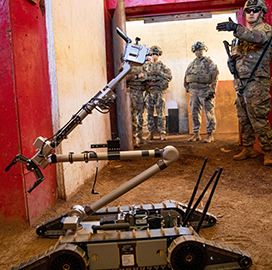 Army Partners With Academia to Develop Soldier-to-Robot Communication System; Felix Gervits Quoted