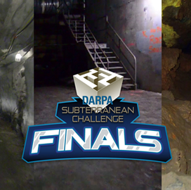 DARPA Picks Eight Teams for Subterranean Challenge Robot Competition Finals