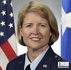 Spacecom's Maj. Gen. DeAnna Burt Details Combatant Command's Priorities
