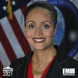 NGA Deputy Director Stacey Dixon Wins 2021 Wash100 Popular Vote Standings; Executive Mosaic CEO Jim Garrettson Quoted