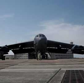 Air Force Bomber Demonstrates Hypersonic Kill Chain in Recent Exercise; Lt. Col. Joe Little Quoted