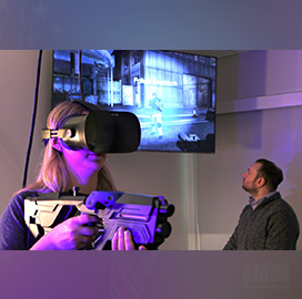 Army Backs Kent State's Virtual Reality Lab to Study Small Soldier Group Dynamics; MILO GM Robert McCue Quoted