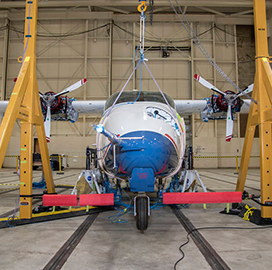 NASA Finishes High-Voltage Testing of Integrated Systems Onboard All-Electric X-57 Maxwell Aircraft