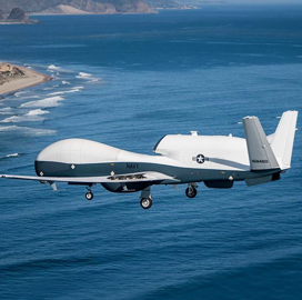 Navy Flight Tests MQ-4C With New Multi-Mission Sensor for First Time; Capt. Dan Mackin Comments