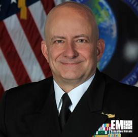 Vice Adm. Robert Sharp: US Needs 'Steady Stream' of Geomatics Professionals