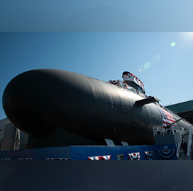 US Navy Holds Christening for Virginia-Class USS Hyman G. Rickover; James Geurts Quoted