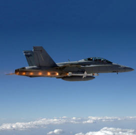 Navy Test-Fires Northrop-Made Anti-Radiation Extended-Range Missile; Captain A.C. Dutko Quoted
